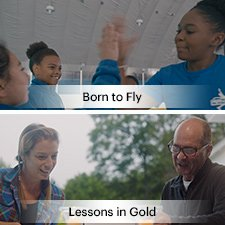 Born to Fly and Lessons in Gold